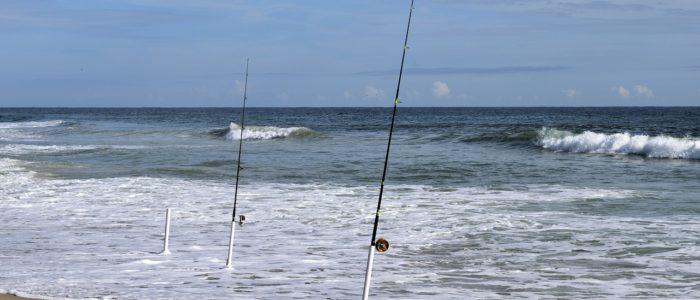 シロギスの投げ釣り