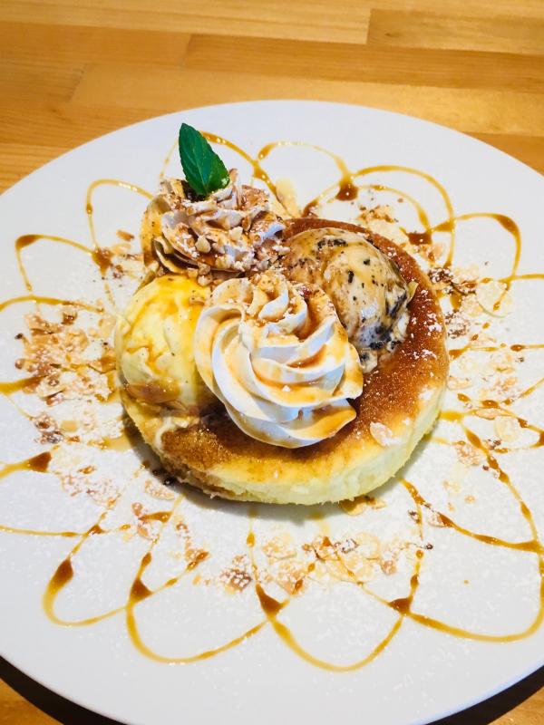 高知駅近くのカフェ ヒラク (cafe hiraku)にパンケーキを食べに行く