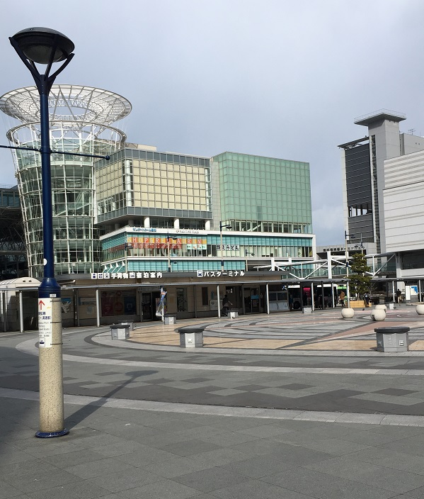 高松駅前広場 とさくら 高知 ブログ