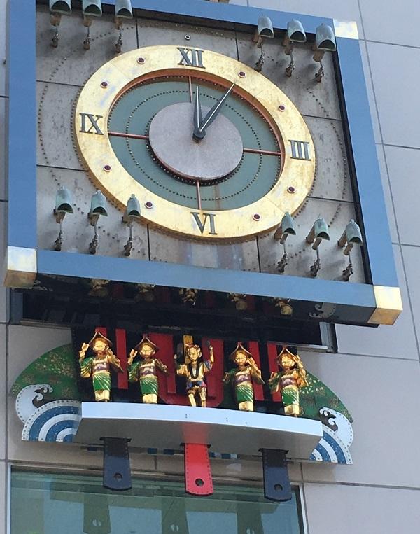 はりまや橋 播磨屋橋 からくり人形 高知 ブログ とさくら よさこい節